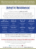 RHGA July/15 Artist in Residence York Culture Ad