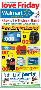 7 Day Store Grand Opening Concept