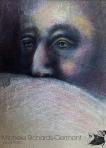 "Peek A Boo 13x9"" Charcoal & soft pastel on rag paper Original - $250 Prints - Please contact"
